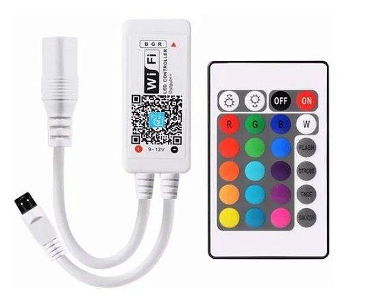 Controladora Wifi - RGB - Para fitas LED 3528 ou 5050 - MAGIC HOME