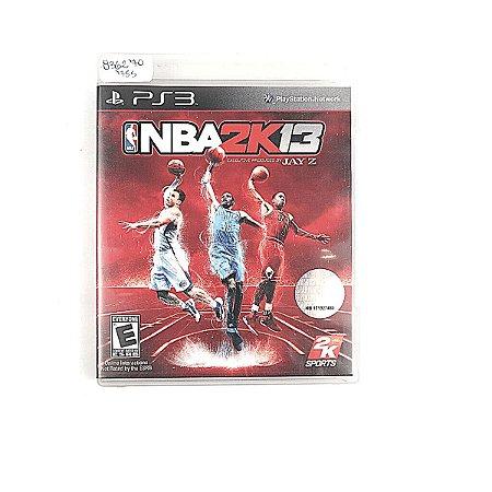 Jogo NBA 2K13 para PS3
