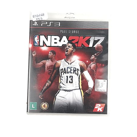 Jogo NBA 2k17 para PS3