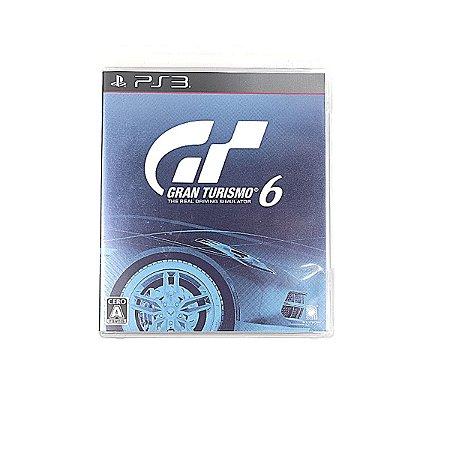 Jogo Gran Turismo 6 para PS3