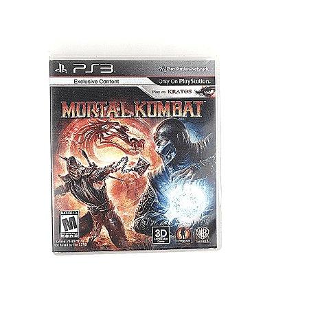 Jogo Mortal Kombat para PS3
