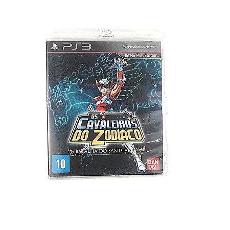Jogo Os Cavaleiros do Zodiaco para PS3