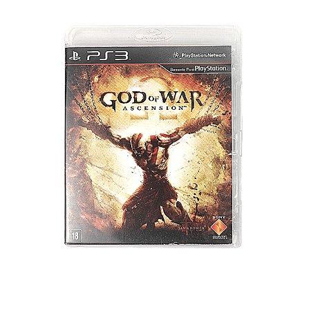 Jogo God of War Ascension para PS3