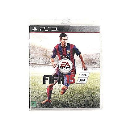 Jogo Fifa 15 para PS3