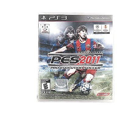 Jogo PES 2011 Pro Evolution Soccer para PS3