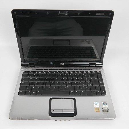 Notebook barato HP DV2000 1.50Ghz 4GB HD 250 Tela 14