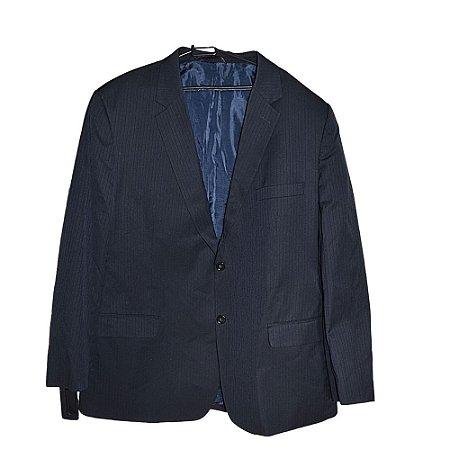 Terno zul marinho, terno masculino Blazer 60cm Calça 52cm