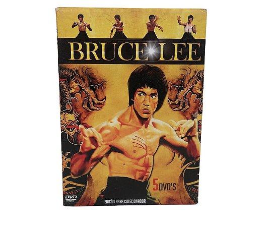Bruce lee filmes, box com 5 filmes