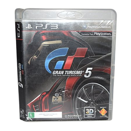 Jogo ps3, Gran Turismo 5