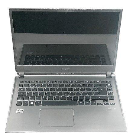 Notebook Barato i5 Hd 500 4gb com pequena mancha na tela