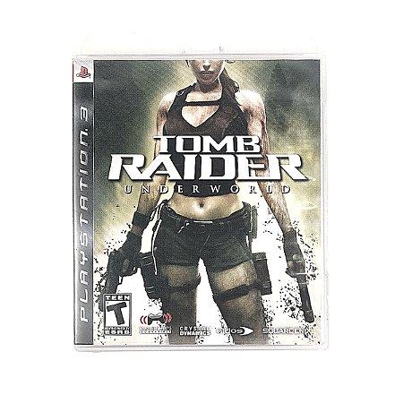 Jogo Tomb Raider UnderWorld para PS3