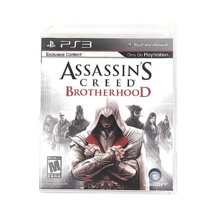Jogo Assassin´S Creed Brotherhood para PS3