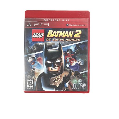 Jogo Lego Batman 2 DC Super Herdes para PS3
