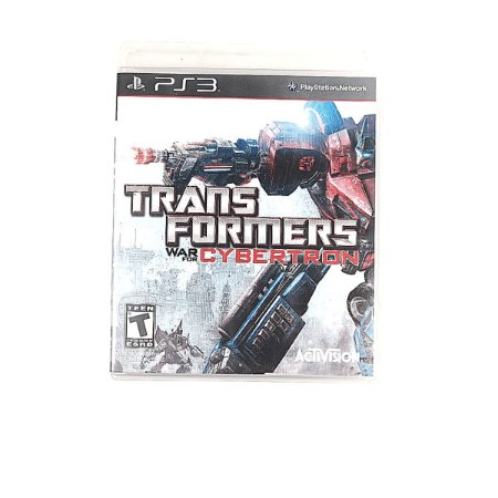 Jogo Transformers: War for Cybertron para PS3