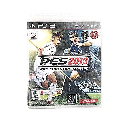 Jogo PES 2013 Pro Evolution Soccer para PS3
