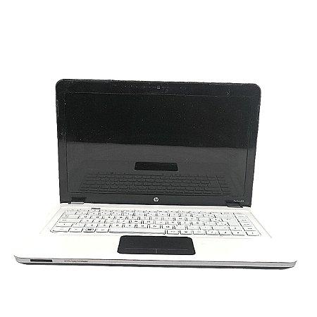 Notebook Usado HP Branco Core i5 4GB Win 10 HD 500GB Win 10