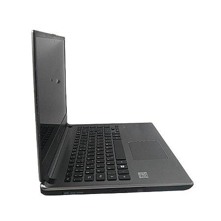 Notebook bom para trabalho 4gb i5 HD500 Tela meio escura