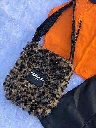 Bolsa Shoulder Bag Leopardo Princess