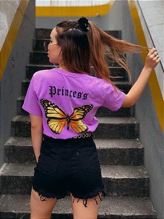Camiseta Butterfly Fúcsia Princess