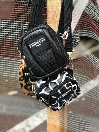 Bolsa Shoulder Bag Croco Princess