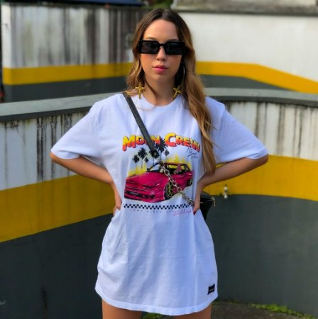Camiseta Mdln Crew Branca