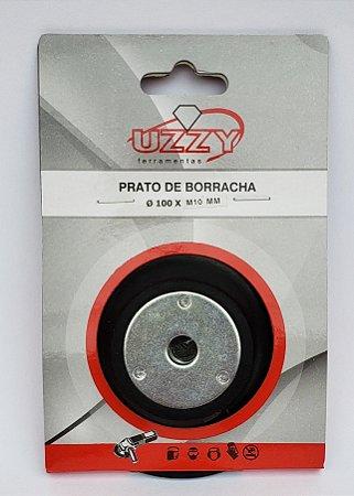 "Prato de Borracha Semi-Flexível (Sem velcro) 100MM (4"")"