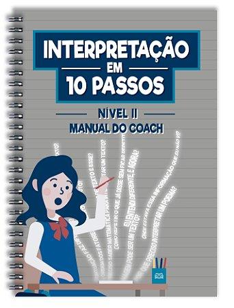 Interpretação em 10 passos - Nível 2 (Manual do Coach)