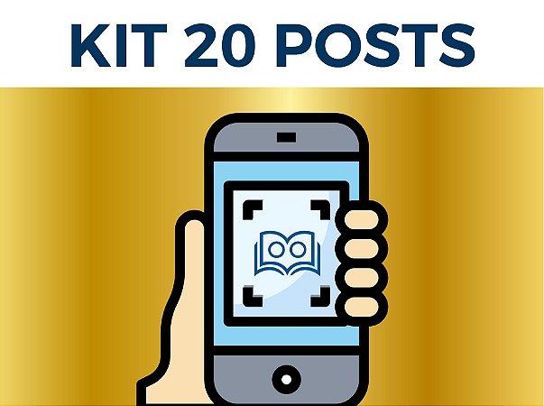 Kit 20 Posts
