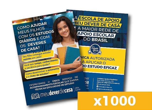 Panfleto de divulgação - Acompanhamento Escolar (x1000)