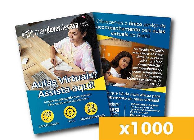 Panfleto de divulgação - Aulas Virtuais (x1000)