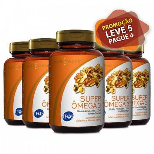 SUPER ÔMEGA 3 NUTRIWAVE IFOS - Leve 5 Pague 4