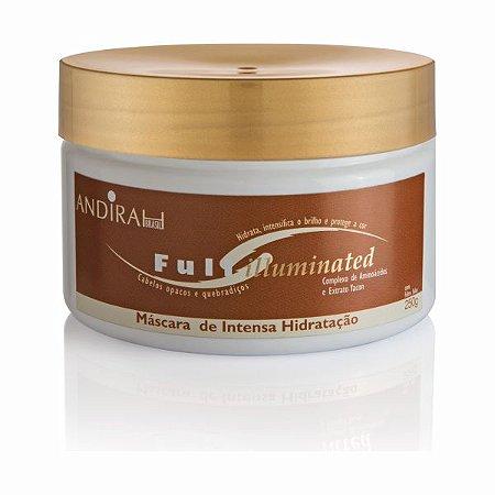 Mascara de Hidratação - Para cabelo Fraco e Quebradiço – Anti Frizz - Full Illuminated - Andirah Brasil