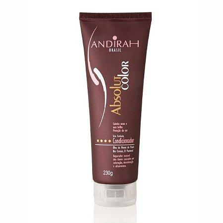 Condicionador de cabelo ressecado e seco - Sela Cutícula do cabelo - Pós Coloração – Absolut Color - Andirah Brasil