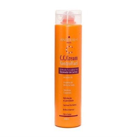 Creme Ativador de Cachos - Melhor Definição dos cachos - Control Curl  Cream 300g - Andirah Brasil