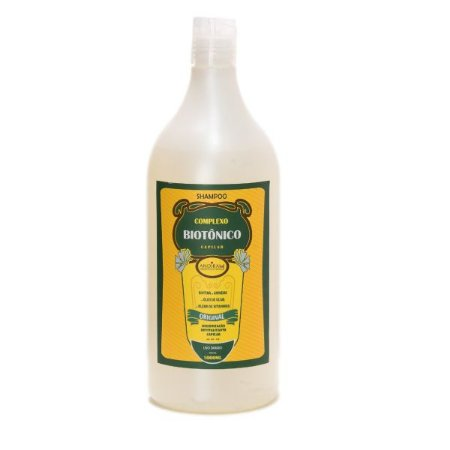Shampoo Natural e Fortalecedor - Fonte de  Vitamina – Complexo Biotônico - Sem Sal - Andirah Brasil
