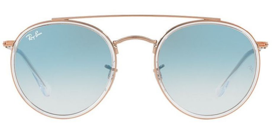RAY BAN RB 3647N 90683F 51 ROUND DOUBLE BRIDGE - ÓCULOS DE SOL