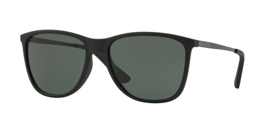 Óculos Jean Monnier J84127 G049 Preto Fosco Lente Verde Escuro Tam 58