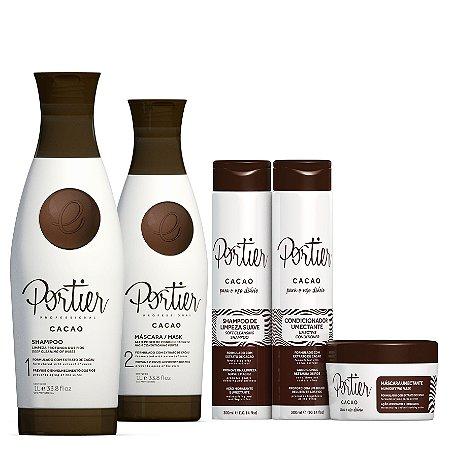 Portier cacao + kit uso diario cacao