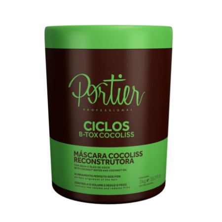 PORTIER CICLOS B-TOX MASK COCOLISS 1KG