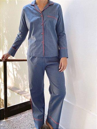Pijama Classic Blue