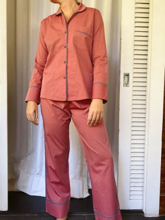 Pijama Blue Vermelho