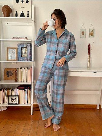 Pijama Xadrez Flanela