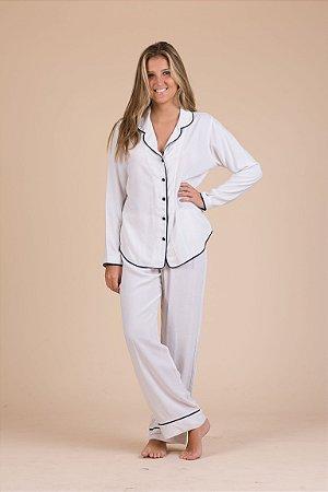 Pijama Linho com Viscose OFF