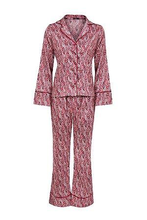 Pijama Cashmere Manga Longa