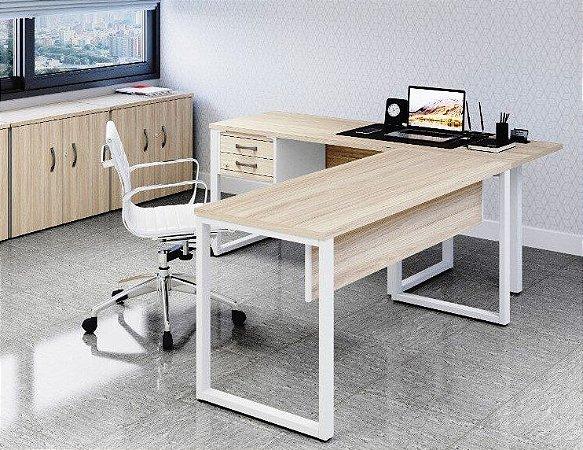 Mesa em L, P25