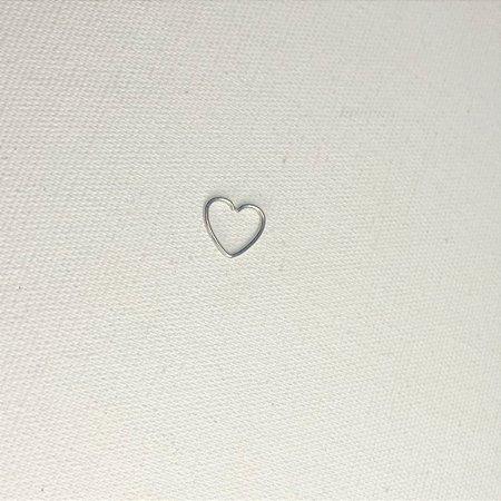 Piercing coração