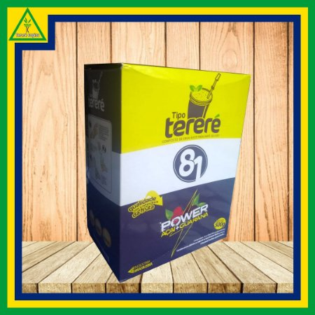 Erva Mate 81 POWER AÇAI GUARANA 500g