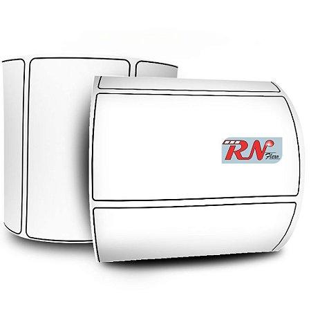 Etiqueta 60x30 mm BOPP Fosco Branca 1 Rolo