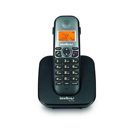 Telefone sem Fio TS 5120 Preto com Viva Voz Bivolt 4125120 Intelbras