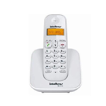 Telefone sem Fio TS 3110 Branco Bivolt 4123010 Intelbras